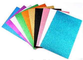 Eva Foam Products/Ethylene Vinyl Acetate/Shiny Glitter Eva Foam Sheet