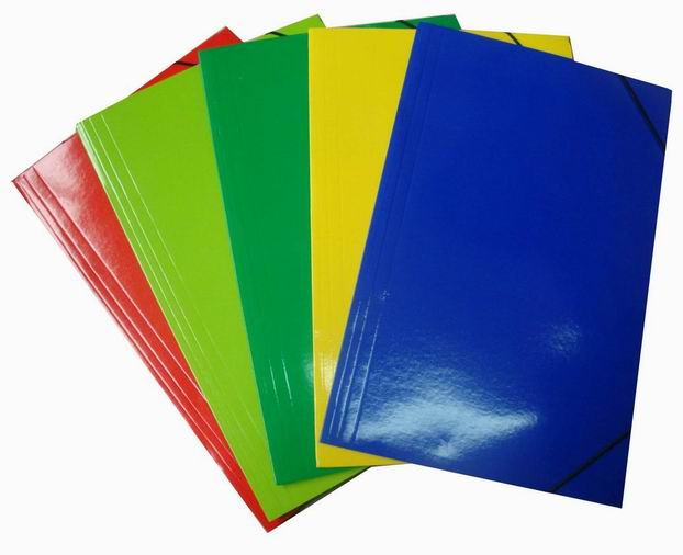 Paper File Folder With String