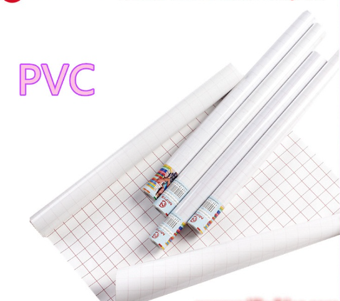Transparent PVC Polyvinyl Clear Self Adhesive Plastic Book Covering Protective Vinyl Film In Roll