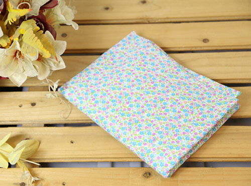 Cotton DIY Craft Fabric for Kids Floral-4