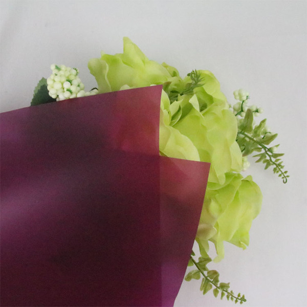 Translucent Wrapping Paper film TW21-Purple