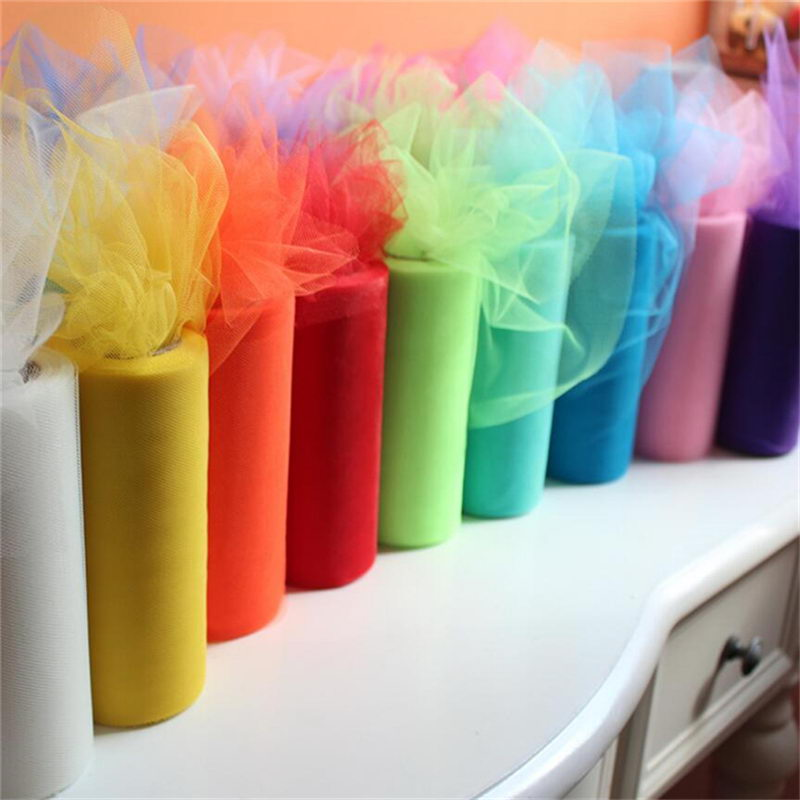 Table Runner Crystal Tulle Organza Roll
