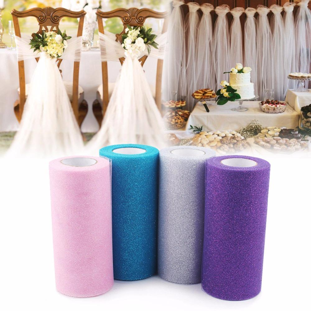 Glitter Tulle Rolls