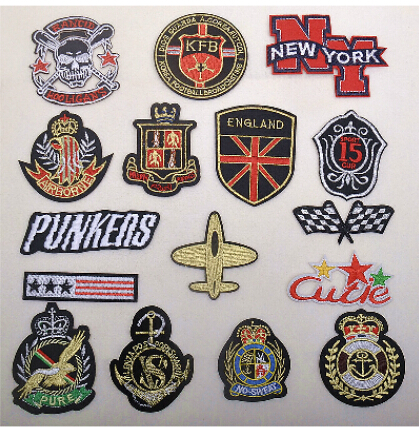 Embroidery Patches & Badges