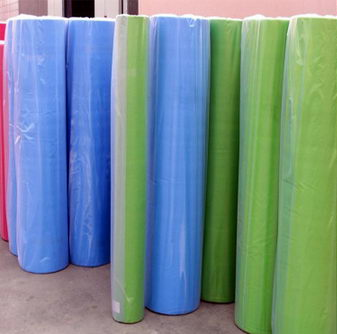 PP spunbonded nonwoven fabric rolls