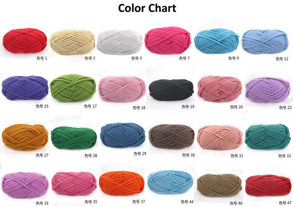 Fabric Yarn color chart