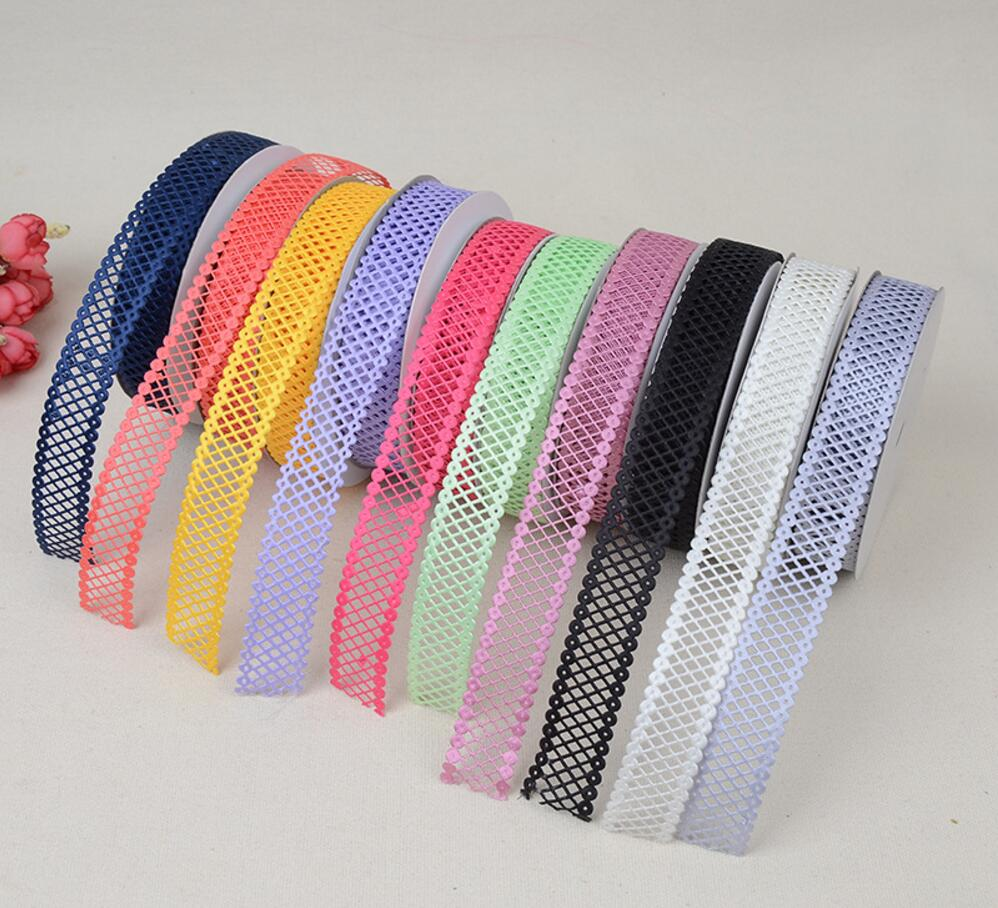 3D Satin Ribbon 2.2cm Diamond
