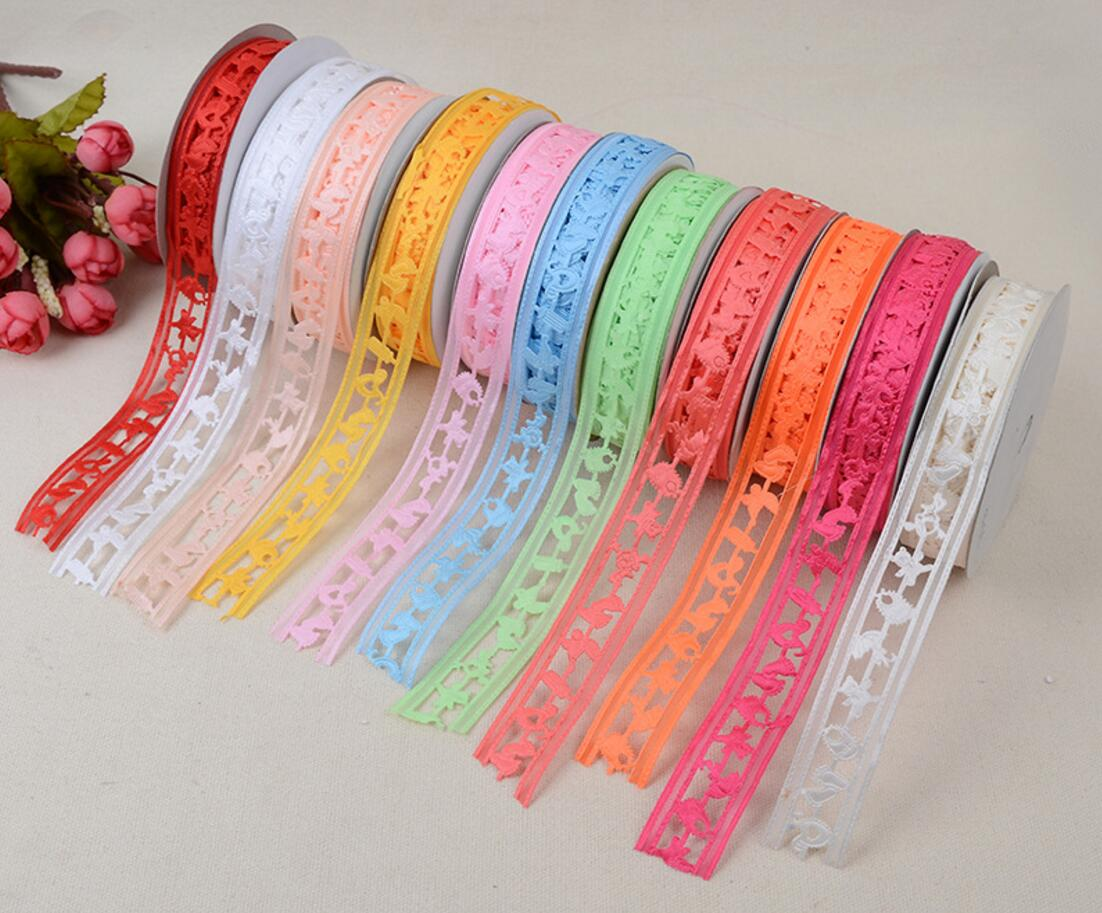 3D Hollow Satin Ribbon