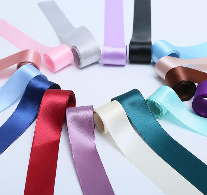 Colorful Satin Ribbon Roll