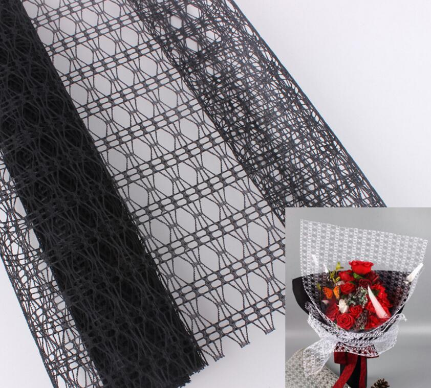 Diamond Pattern Mesh Fabric