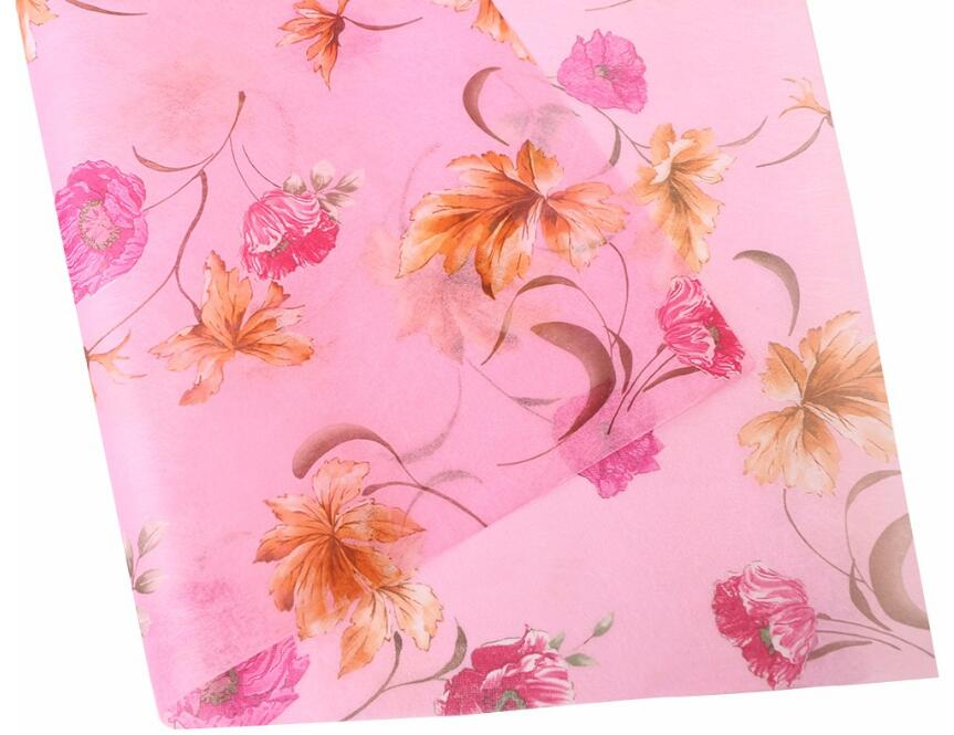 Printed Non-woven Tissue Paper for Floral Fabric