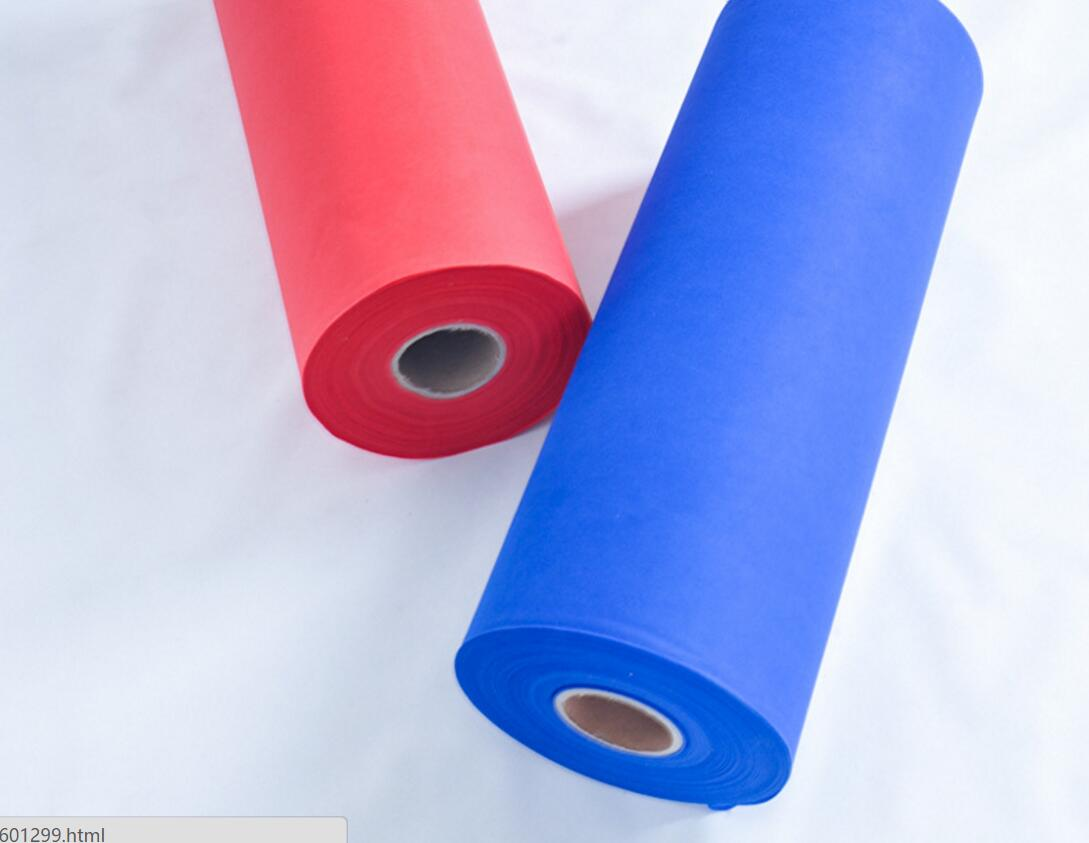 Colored Non-woven Fabric for Wrapping Industry