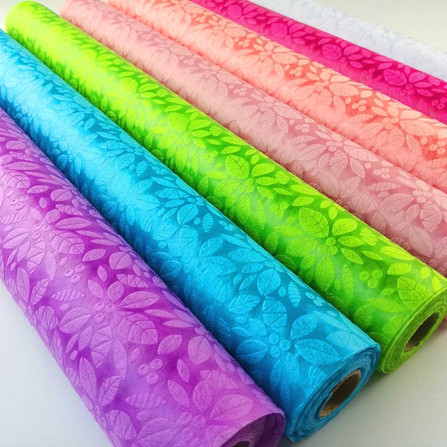 non woven fabric for flower or gift wrapping  and packing material