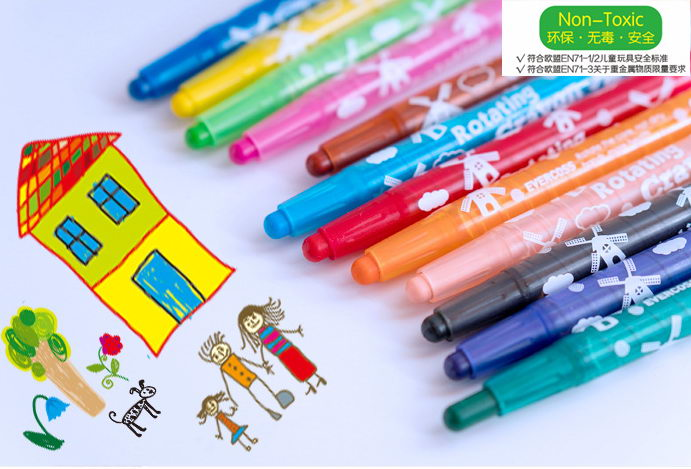 Rotating Crayon for kids