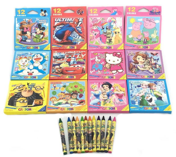 Disney Licenced Cover Crayon
